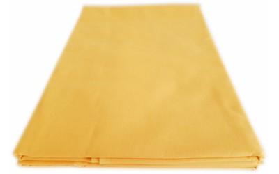 Prostěradlo bavlna plátno žluté