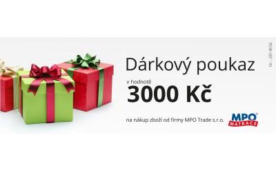 Dárkový poukaz 3000Kč