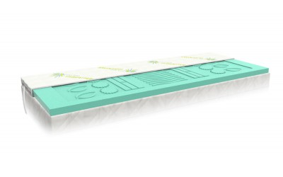 Přistýlka z aloe paměťové pěny HERBAPUR BALANCE