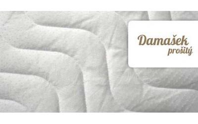 Potah na matraci Damašek prošitý