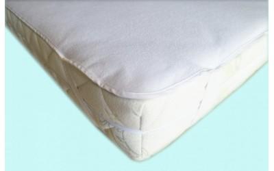 Polášek PU chránič froté bílá