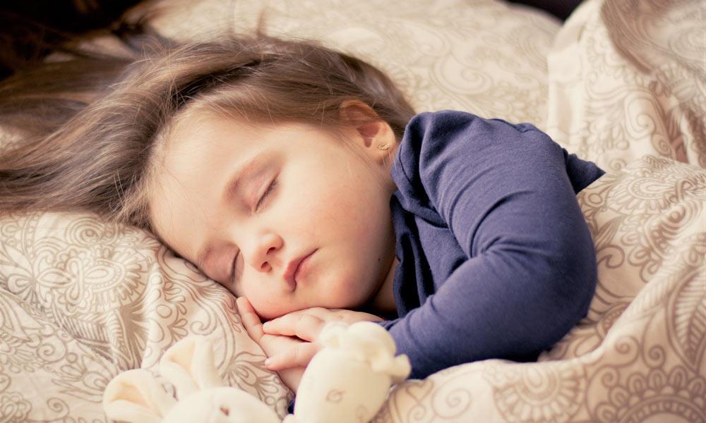 Aby malé deti dobre spali