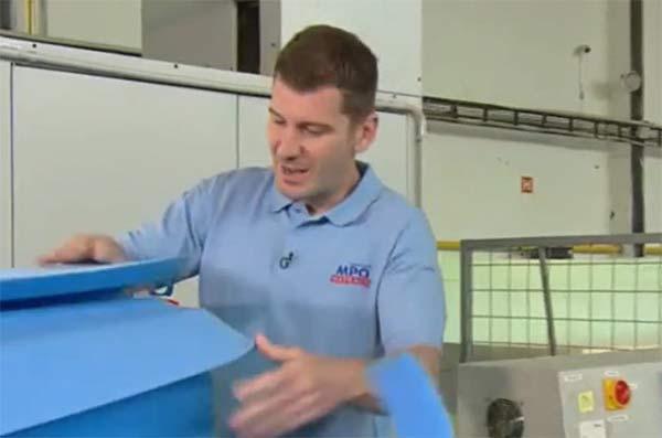 Výroba matrace Héra