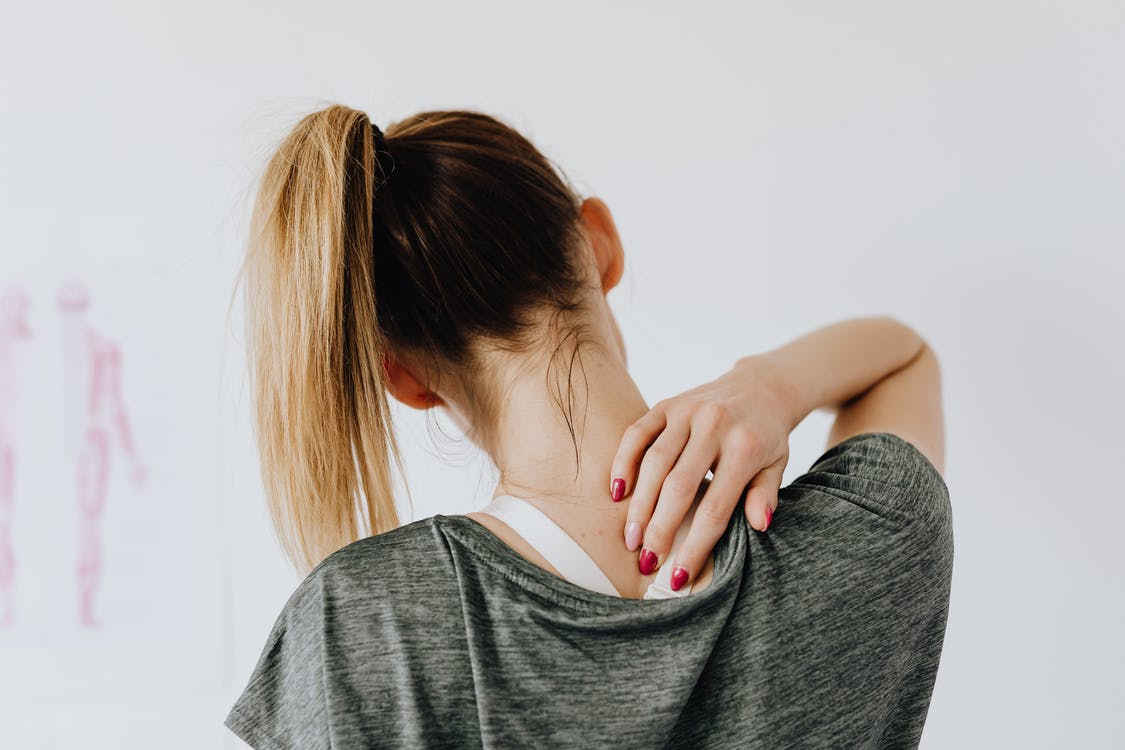 Anatomické vankúše chránia krčnú chrbticu