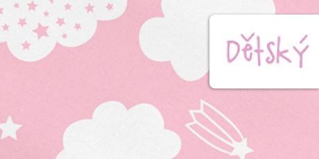 Dětský matracový potah - růžový