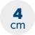 výška matrace 4 cm