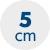 výška matrace 5 cm